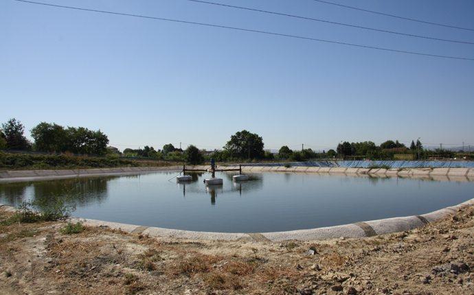 Impermeabilizzazione della vasca di stoccaggio reflui dell'azienda vinicola Cantina Sociale di Predappio