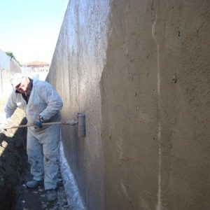 Applicazione Impermeabilizzanti elastici acrilico-cementizi