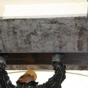 Foto restauro strutturale con materiali compositi FRP
