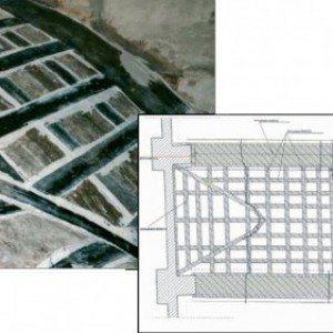 Progetto restauro strutturale con materiali compositi FRP