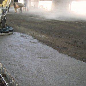 Esempio pavimento industriale in calcestruzzo