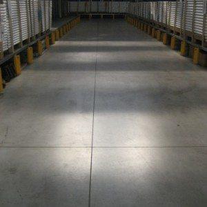 Lavorazione pavimento industriale in calcestruzzo