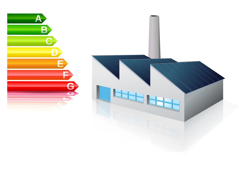 Grafico isolamento tetti industriali