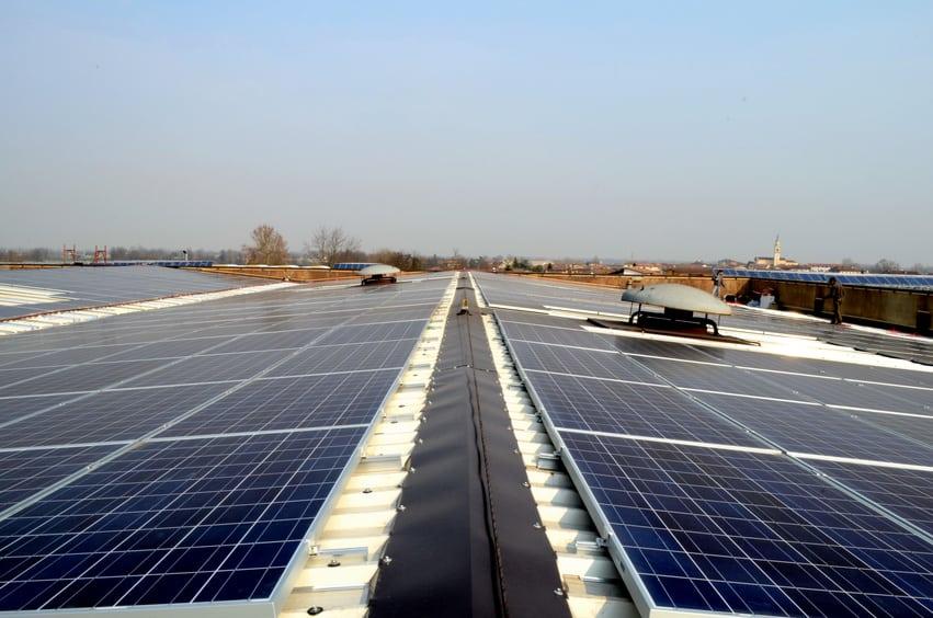 Installazione fotovoltaico su capannone industriale 5